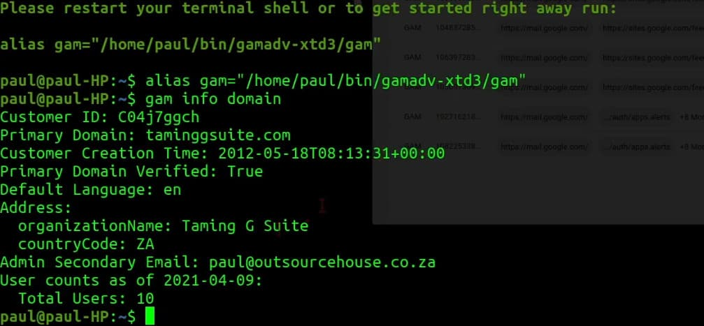 GAMADV-XTD3 now runs on Ubuntu